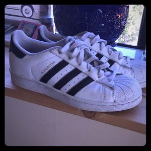 Adidas Super Star Shoes - Size 7